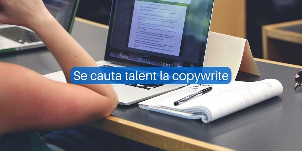 Se cauta talent la copywrite in echipa SilkWeb
