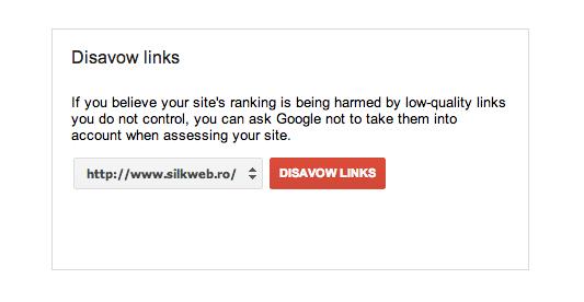 Google Lanseaza Disavow Links Tool