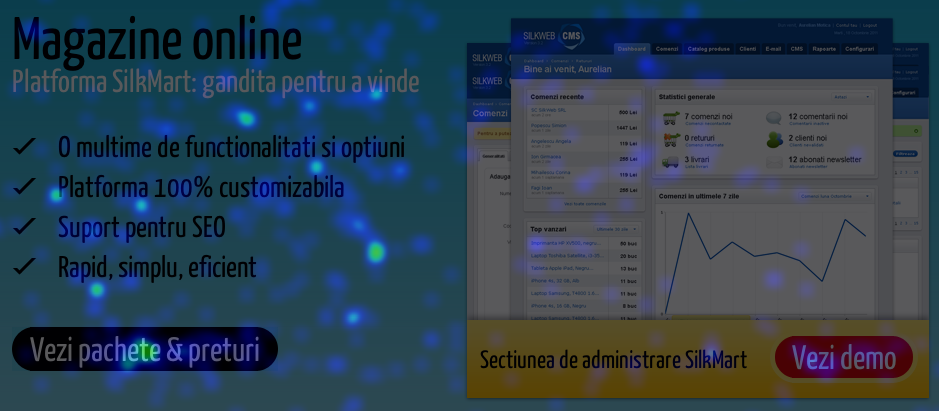 Portofoliu web – tinta pentru spammeri