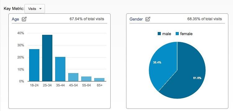 demografice google analytics