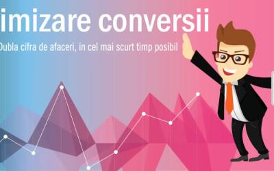 Urmeaza paginile web create pentru conversii