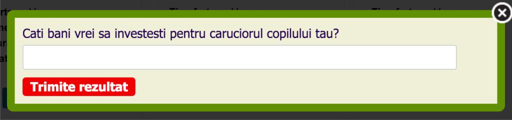 survey magazin carucioare