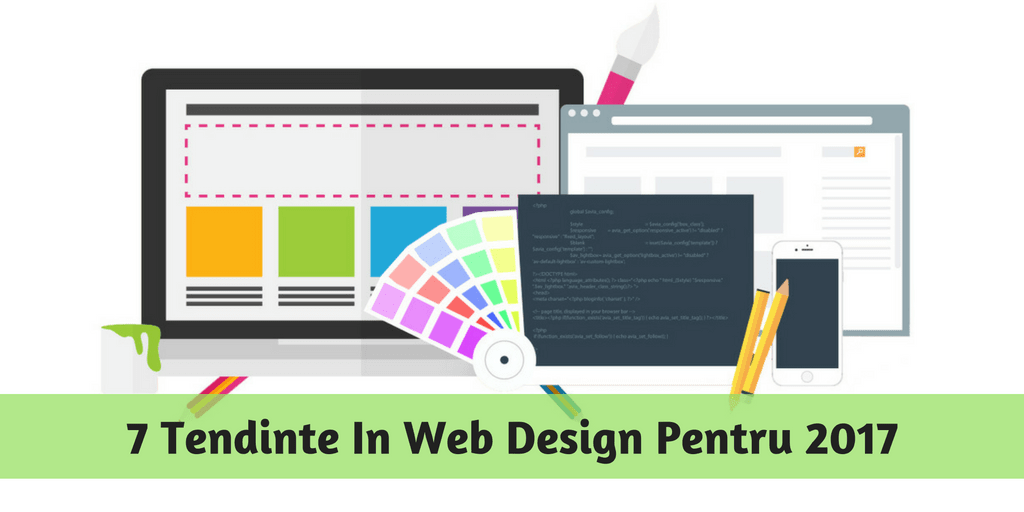 Tendinte In Web Design 2017