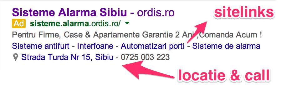 foloseste extensii in reclamele tale google adwords