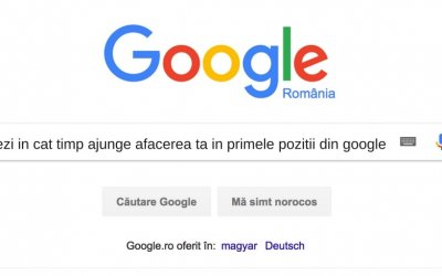 Google Spune: In SEO Este Nevoie de 4 Luni Pana la 1 An Pentru Imbunatatirea Rezultatelor