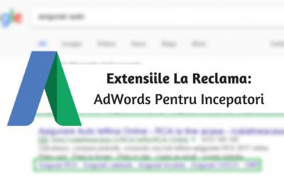 Extensiile La Reclama: AdWords Pentru Incepatori