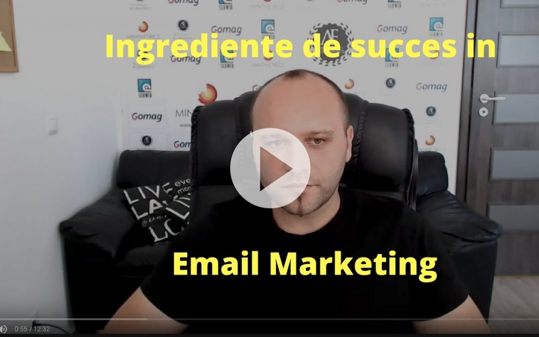 Care sunt ingredientele unei campanii de succes in email marketing