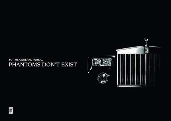 Reclama Rolls Royce