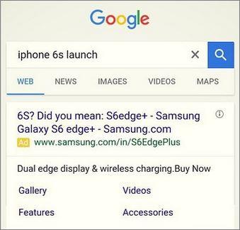 Reclama Samsung trolleaza Apple