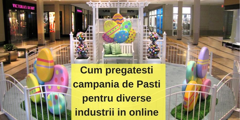 Cum pregatesti campania de Pasti pentru diverse industrii in online
