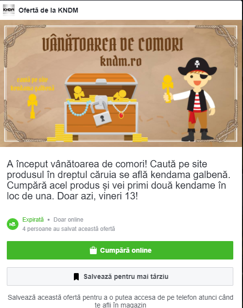 kndm concurs pe facebook
