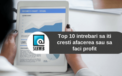 Top 10 intrebari sa iti cresti afacerea sau sa faci profit