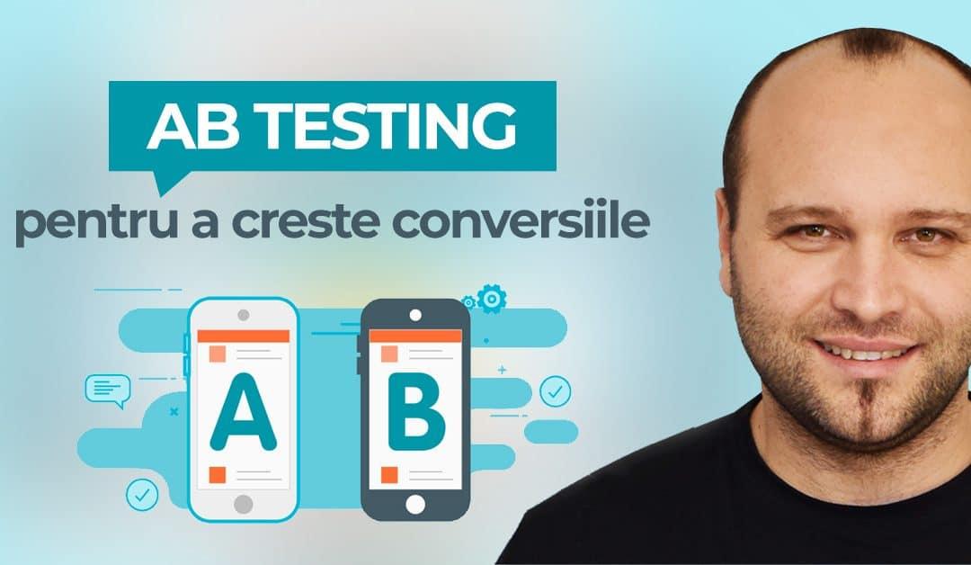 Cum faci A/B Testing pentru a-ti propulsa rata de conversie [+3 Instrumente]