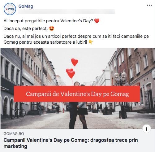 campanii valentines day